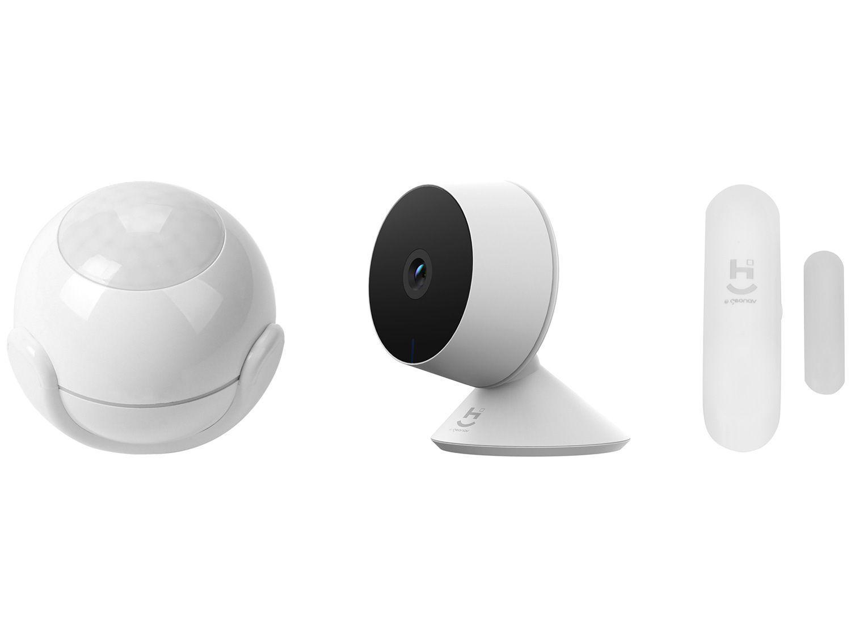 Câmera Inteligente Wi-Fi Geonav + Sensor de - Movimento Inteligente + Sensor de Porta e Janela