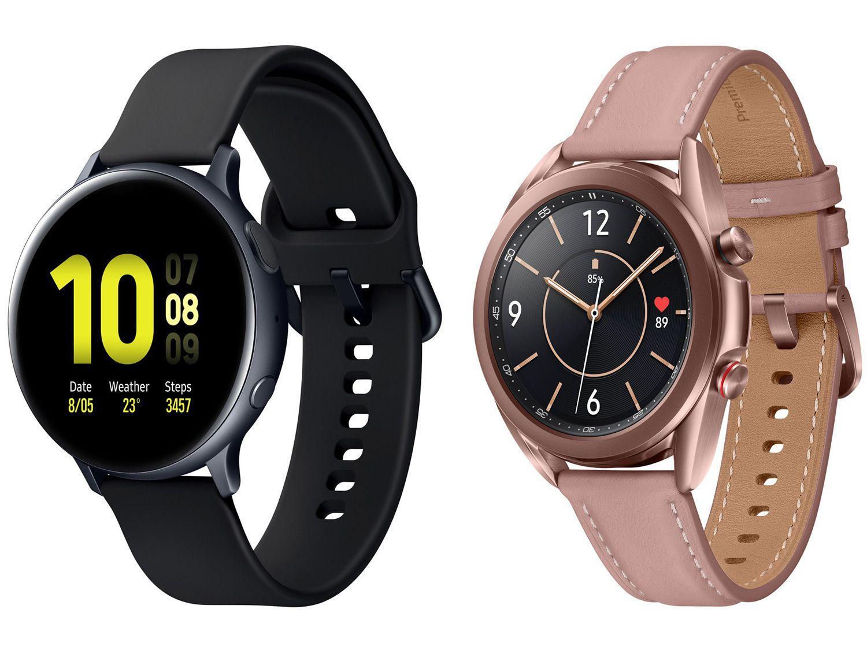 Smartwatch Samsung Galaxy Watch 3 LTE Bronze - 41mm 8GB + Smartwatch Galaxy Watch Active2