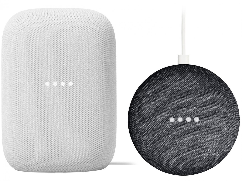 Nest Mini 2ª geração Smart Speaker - com Google Assistente + Nest Audio Smart Speaker