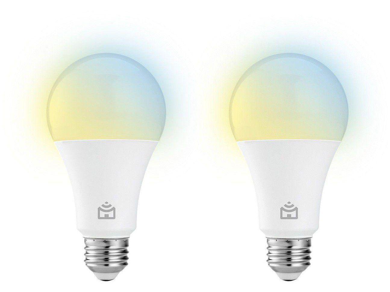 Kit Lâmpadas Inteligentes LED 2 Unidades E27 9W - Positivo Home Smart