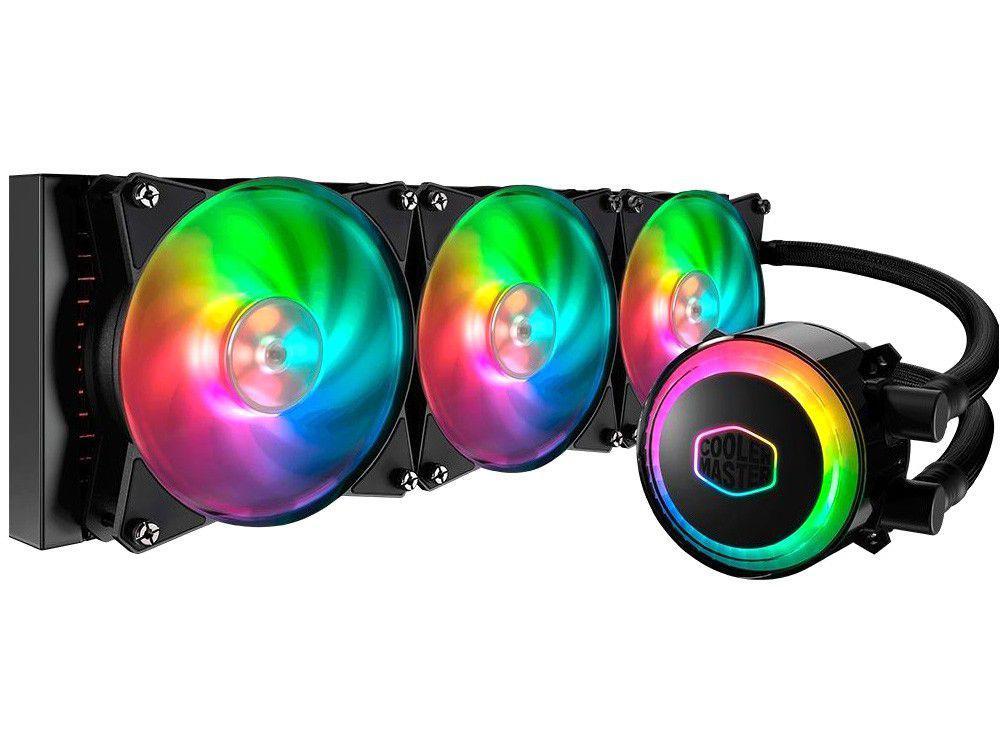Water Cooler Cooler Master MasterLiquid ML360R V2 - RGB Intel e AMD