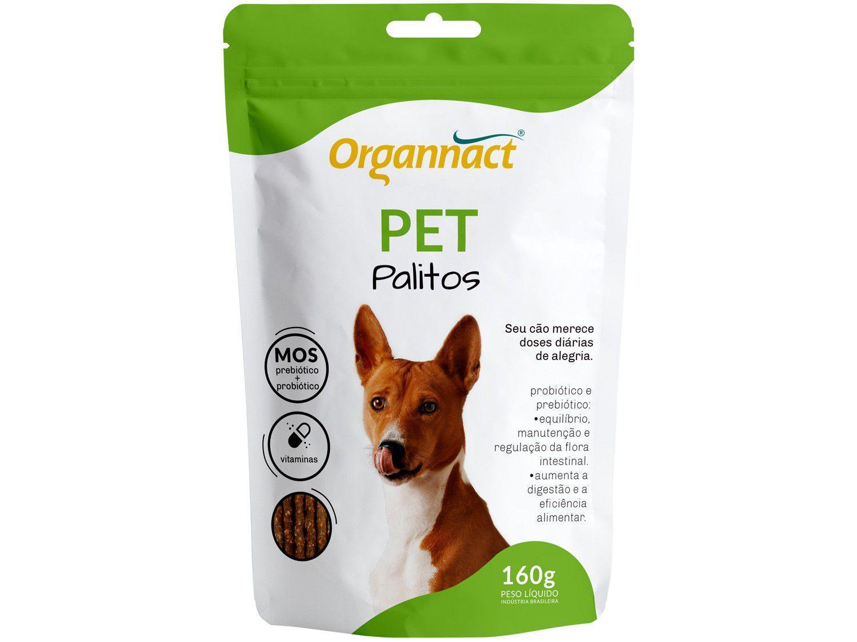 Suplemento Organnact Pet Palitos - para Cachorro 160g