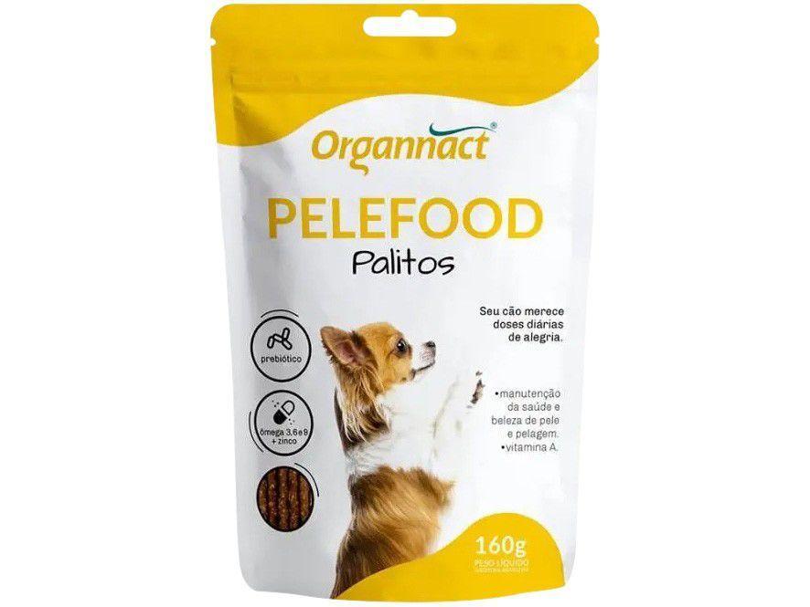 Suplemento Organnact Pelefood Palito - para Cachorro 160g