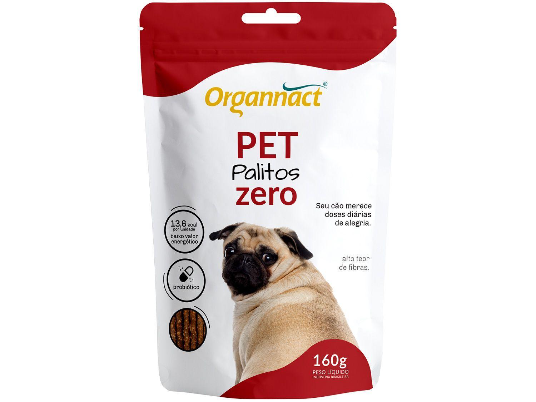 Suplemento Organnact Pet Palitos Zero - para Cachorro 160g