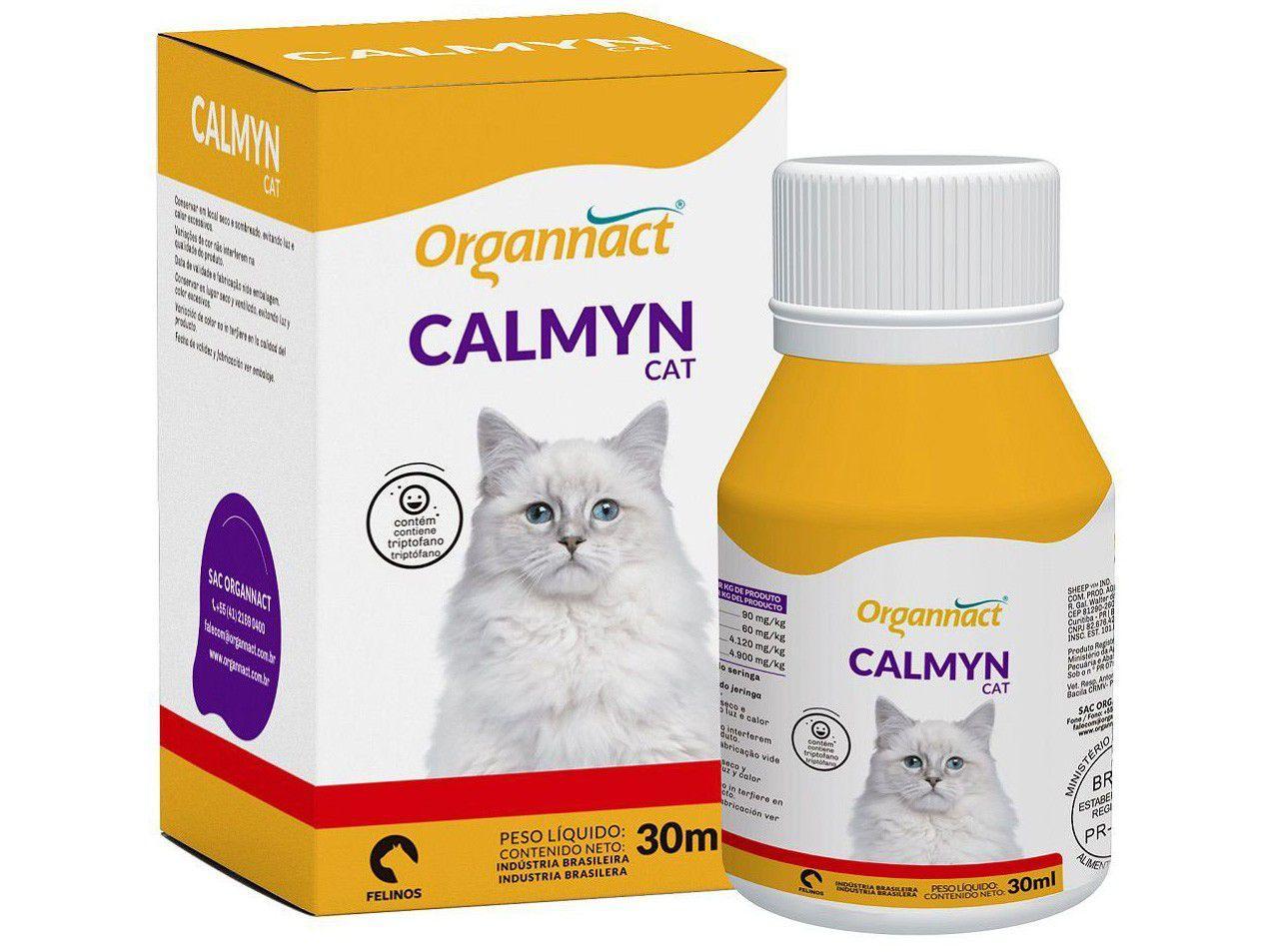 Calmante para Gato Organnact Calmyn Cat 30ml