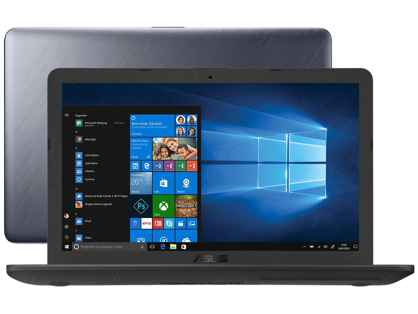 "Notebook Asus VivoBook X543UA-DM3457T - Intel Core i5 8GB 256GB SSD 15,6"" Full HD LED"