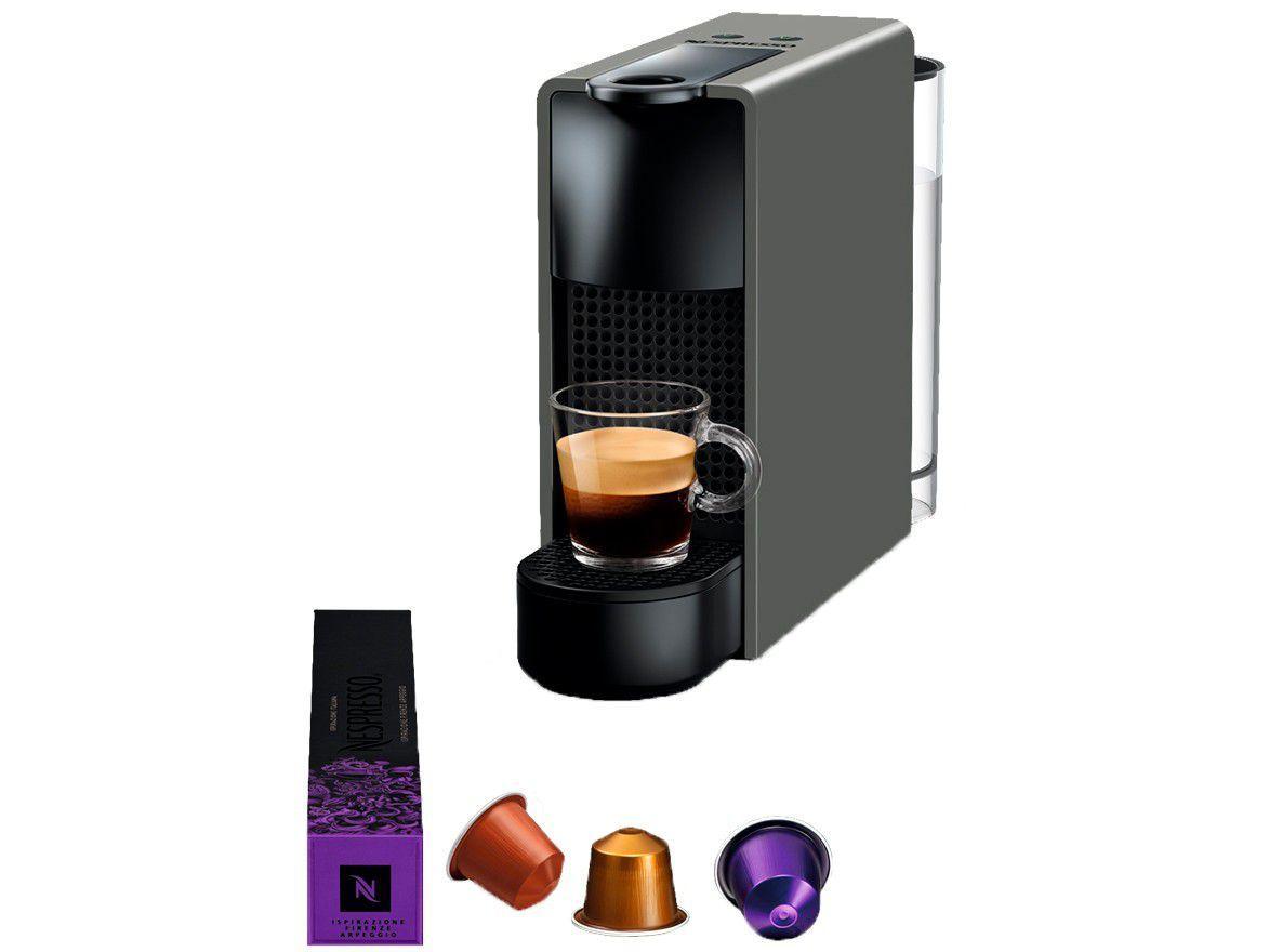 Cafeteira Nespresso Essenza Mini Cinza