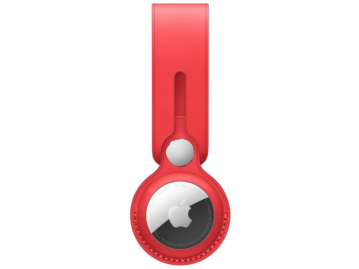 Laço de couro para Apple AirTag - (PRODUCT)RED