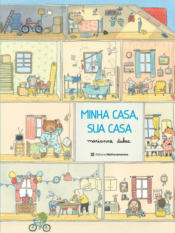 Livro - Minha Casa, Sua Casa