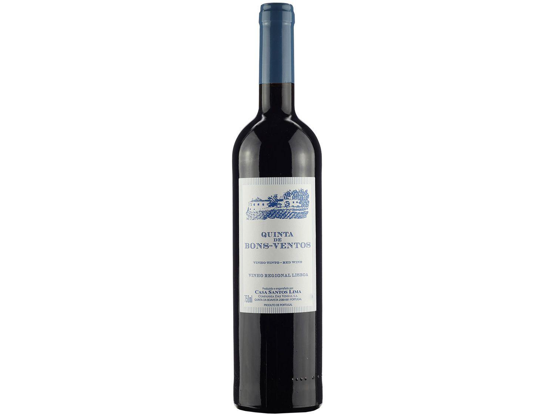 Vinho Tinto Meio Seco Quinta de Bons-Ventos - 2019 Portugal 750ml
