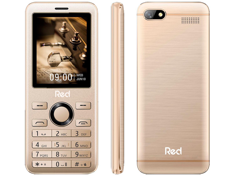 Celular Red Mobile Prime 2.4 M012F Dual Chip - 32MB 2G Rádio FM Bluetooth Desbloqueado