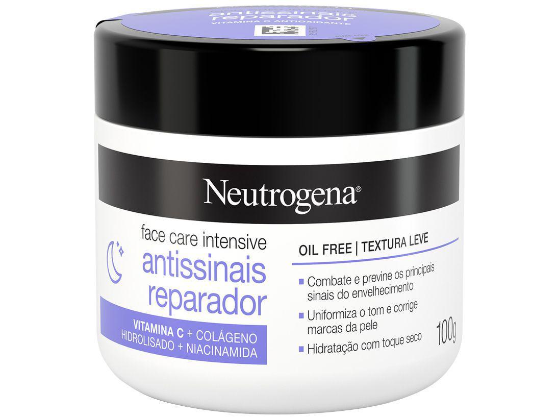 Creme Hidratante Facial Neutrogena - Face Care Intensive 100g