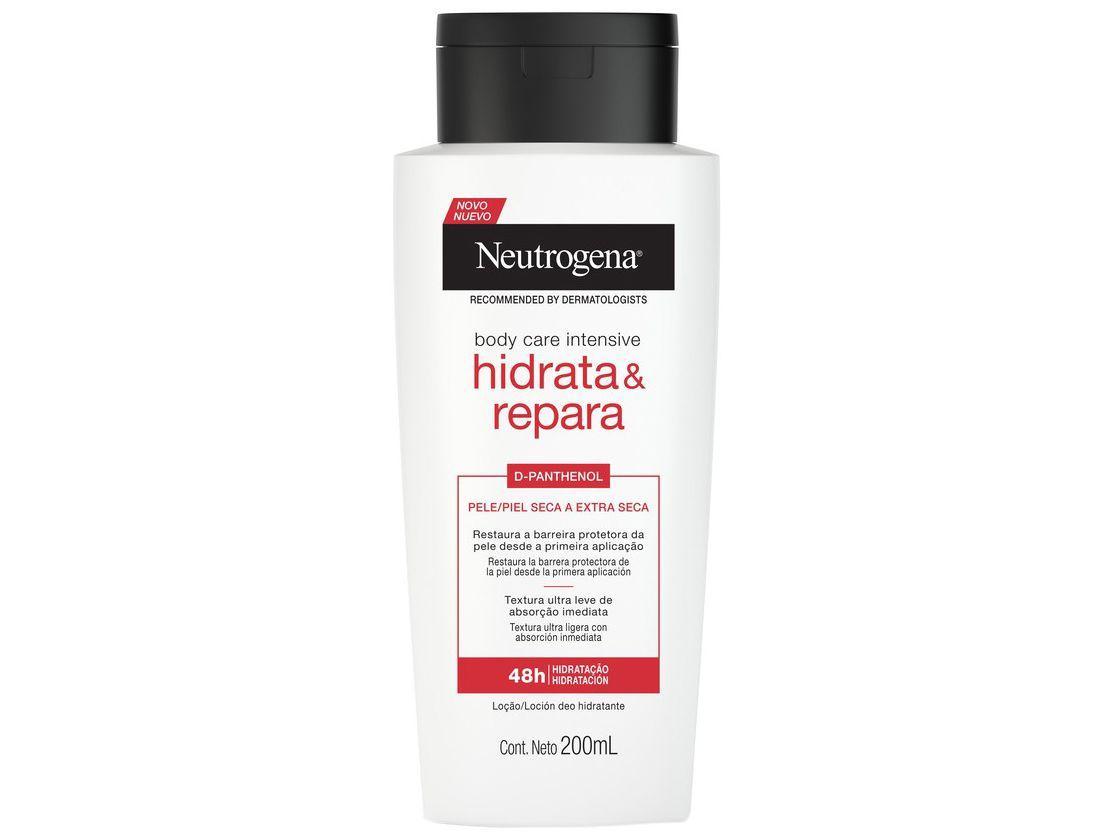 Loção Hidratante Corporal para Peles Secas - Neutrogena Body Care Intensive Hidrata e Repara