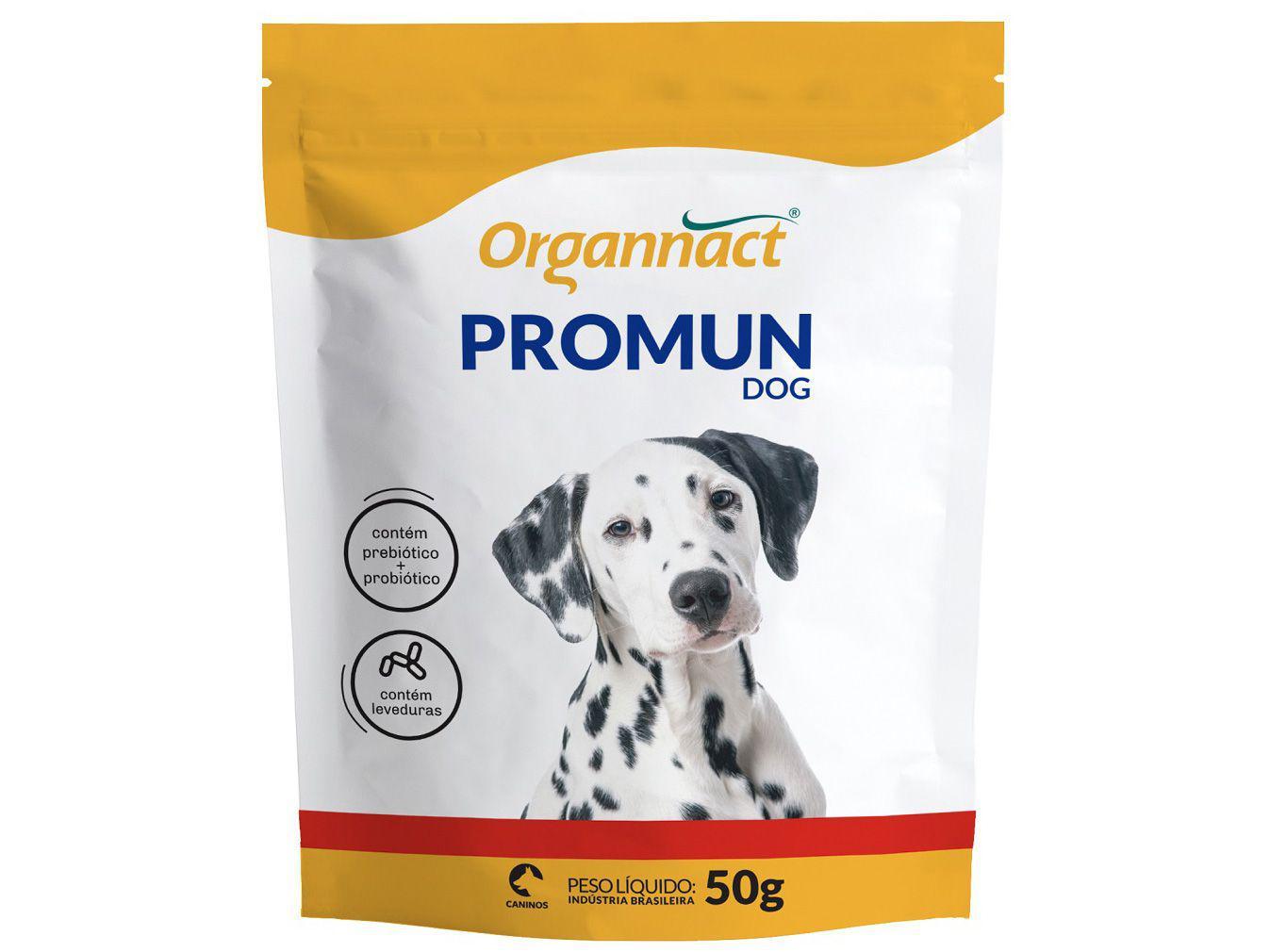 Suplemento Organnact Promun Dog - para Cachorro 50g