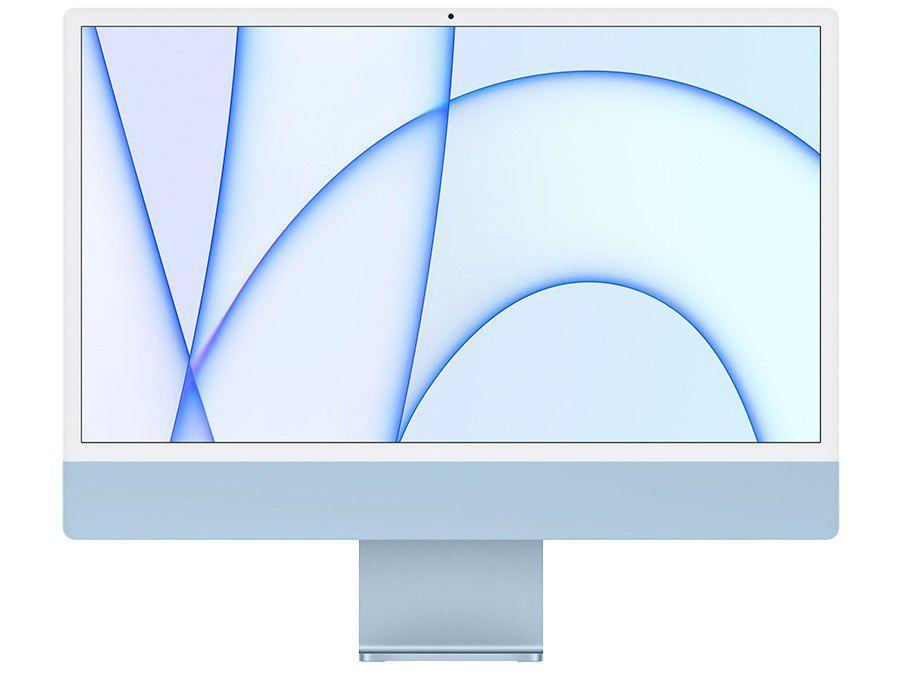 "iMac 24"" Tela Retina 4.5K Apple M1 (8 CPU e 8 GPU) - 512GB com Touch ID Azul"