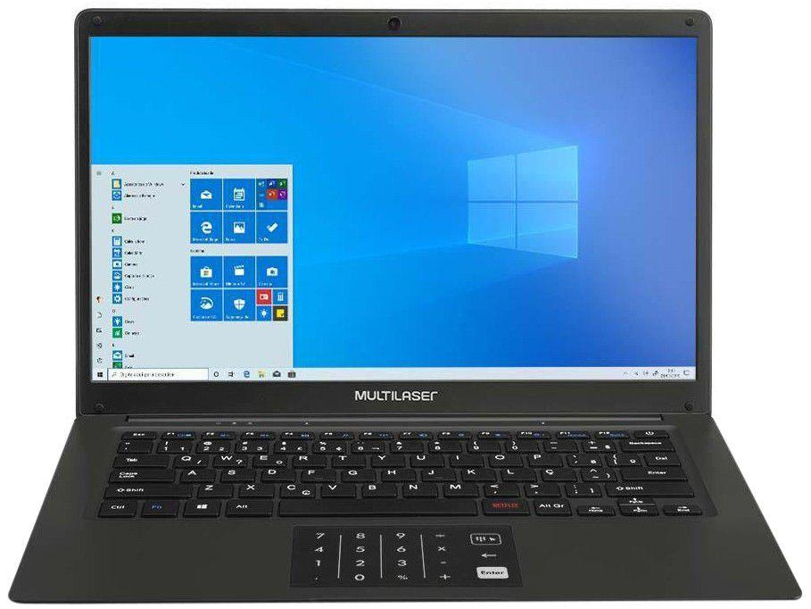 "Notebook Multilaser Legacy Book PC310 - Intel Pentium 4GB 64GB eMMC 14"" LED Windows 10"