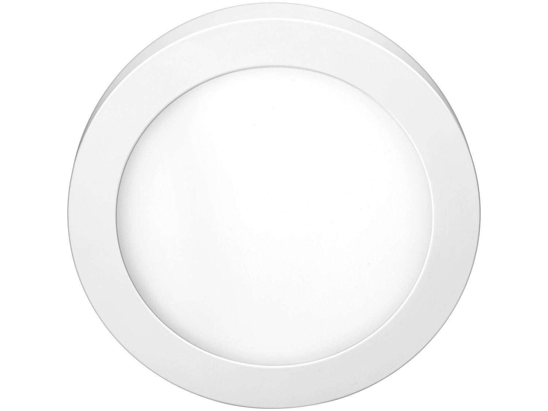 Plafon LED de Sobrepor Redondo 18W Elgin - Downlight Branco