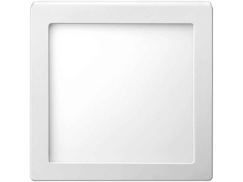 Plafon LED de Sobrepor Quadrado 18W Elgin - Downlight Branco