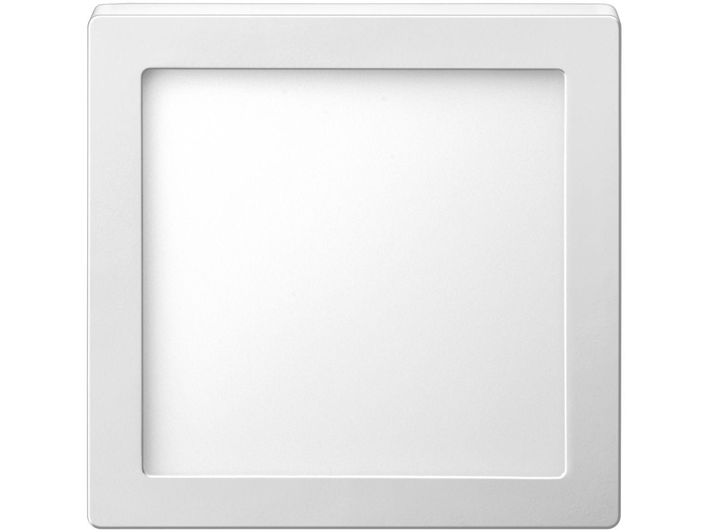 Plafon LED de Sobrepor Quadrado 24W Elgin - Downlight Branco