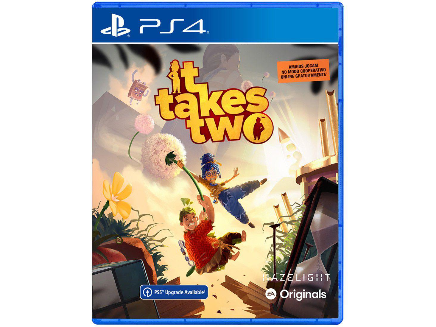 Jogo It Takes Two para PS4 e PS5 Via Upgrade - Digital Hazelight
