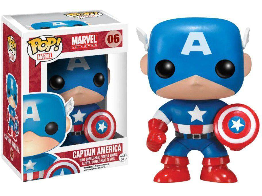 Funko Pop! Marvel Capitain America Nº 2224