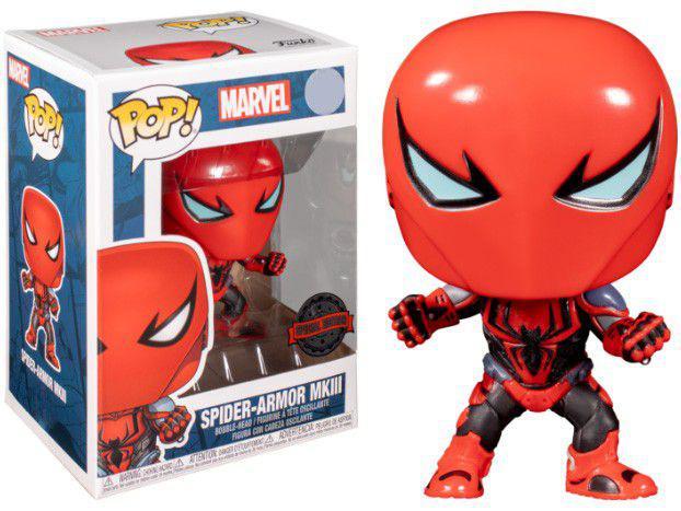Funko Pop! Marvel Spider Armor N°37408