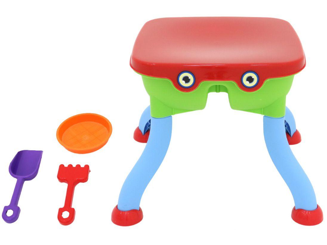 Mesa Infantil Multifuncional Bel Multicolorida - 1 Lugar com Acessórios