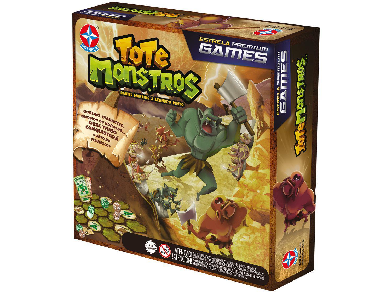 Jogo Estrela Premium Games Tote Monstros - de Tabuleiro Estrela