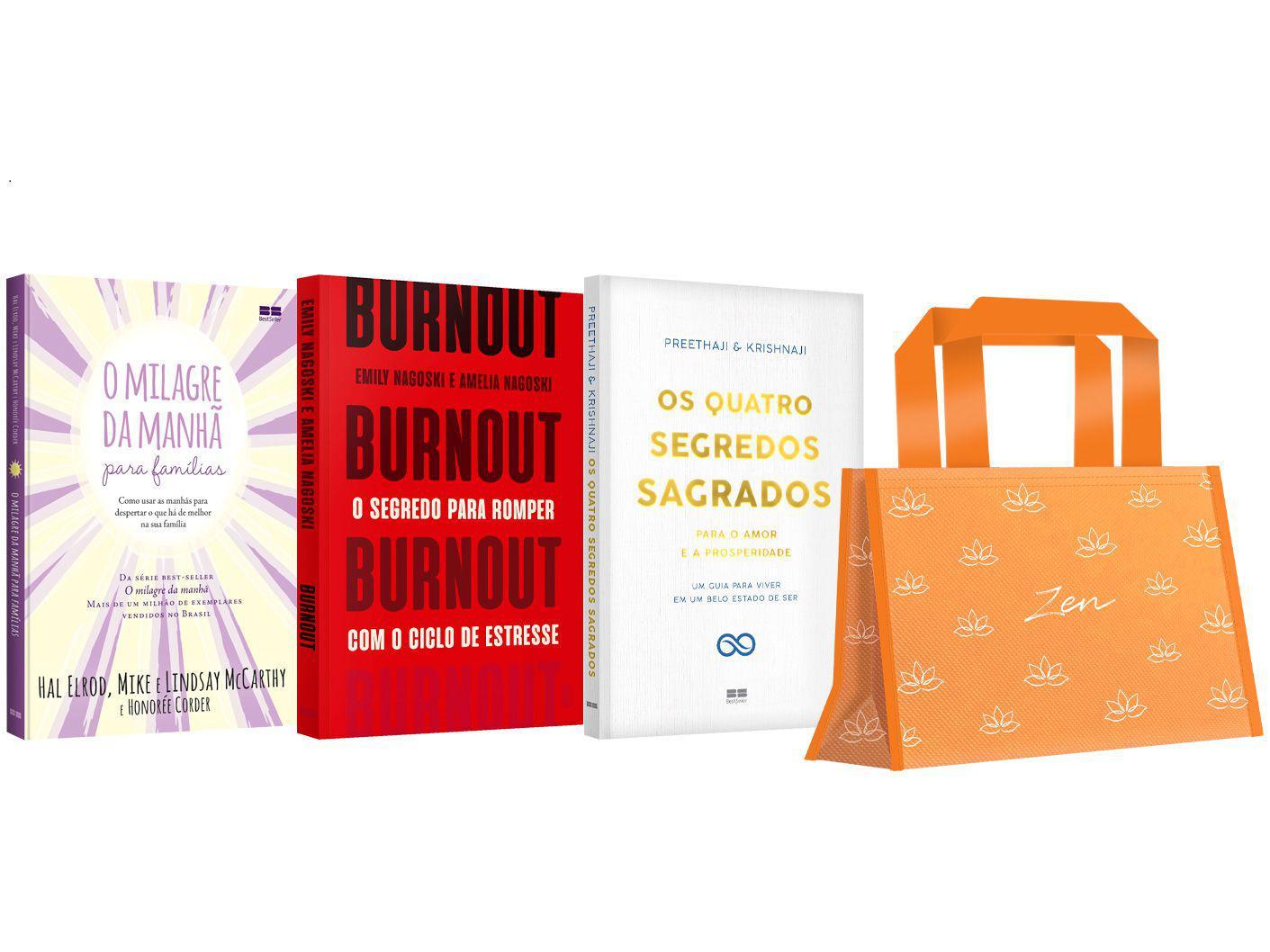 Kit Livros Mulher Zen Edição Limitada com Brinde - Pré-venda