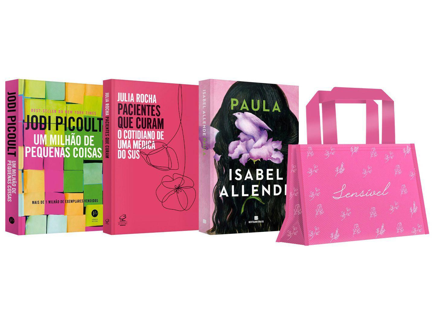 Kit Livros Mulher Sensível Edição Limitada - com Brinde