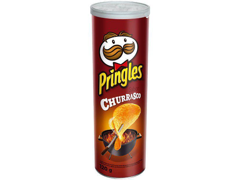 Batata Churrasco Pringles 120g