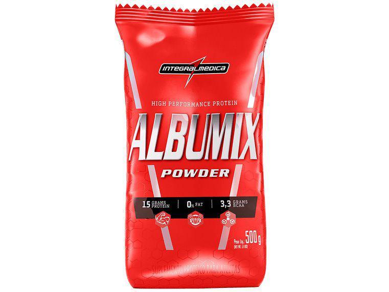 Albumina Integralmédica Albumix Powder - em Pó 500g Neutro sem Lactose
