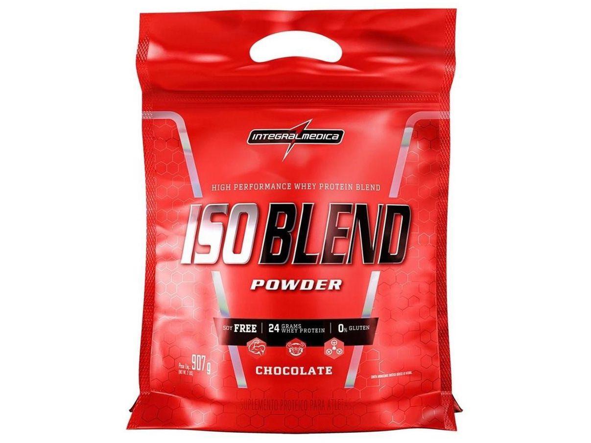 Whey Protein Blend Integralmédica IsoBlend Complex - 907g Chocolate Natural