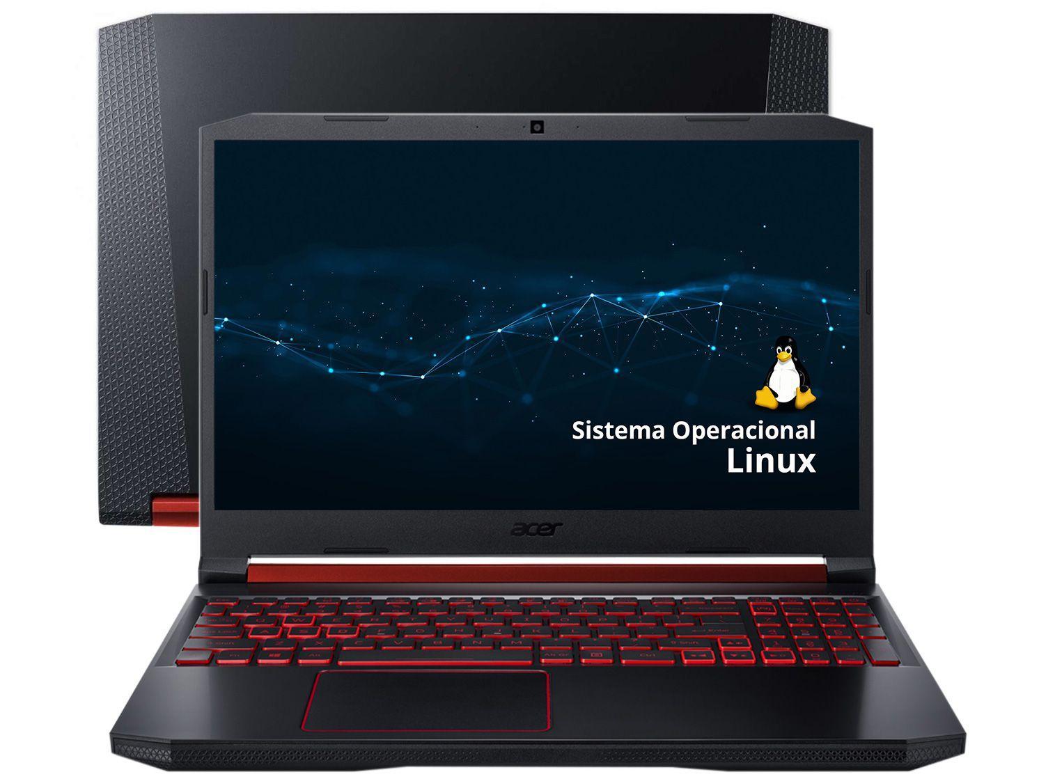 """Notebook Gamer Acer Aspire Nitro 5 AN515-43-R4C3 - AMD Ryzen 7 8GB 1TB 128GB SSD 15,6"""" Full HD"""