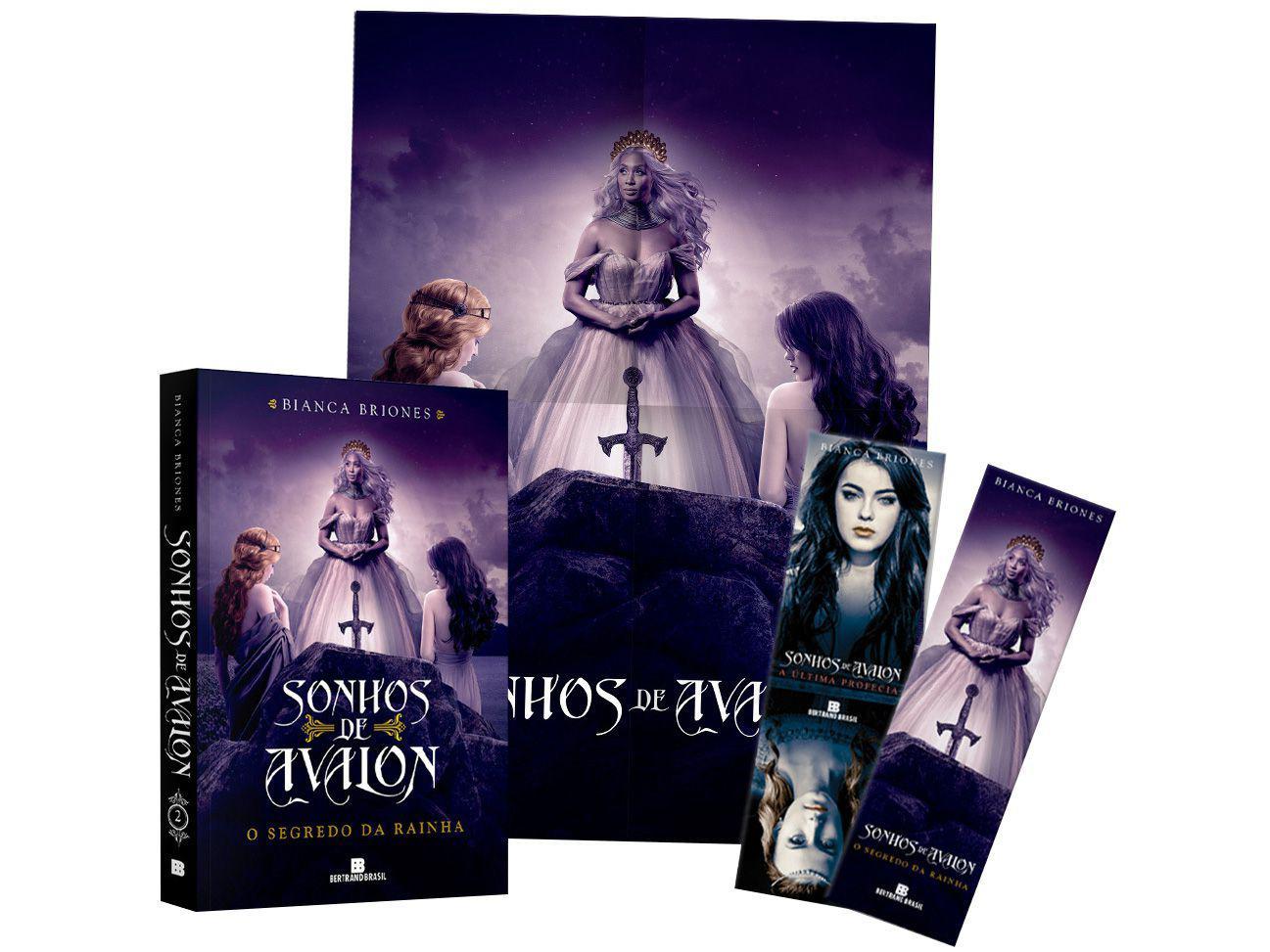Livro O Segredo da Rainha Sonhos de Avalon - Vol. 2 Bianca Briones com Brinde