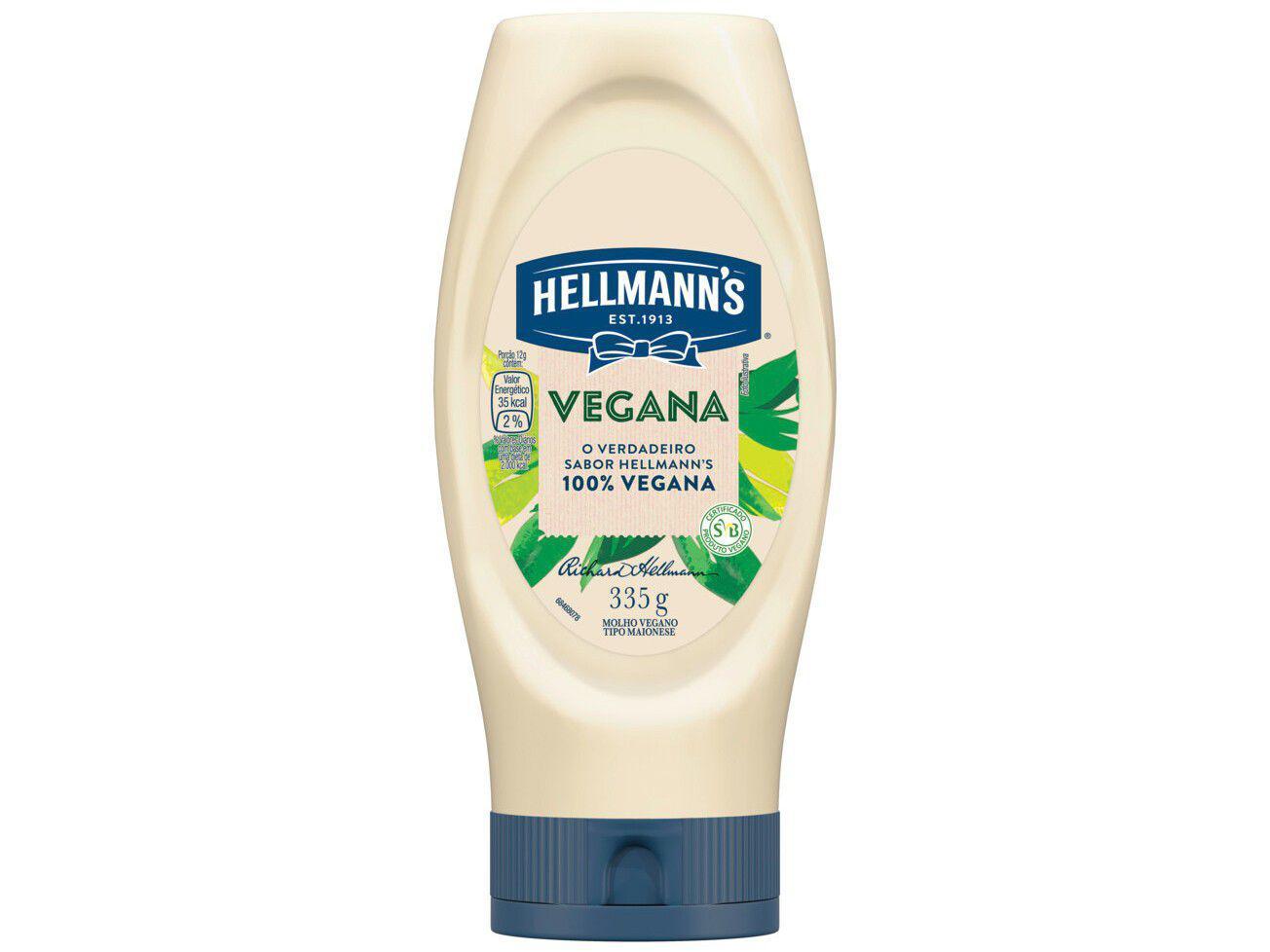 Maionese Hellmanns Vegana Original 335g