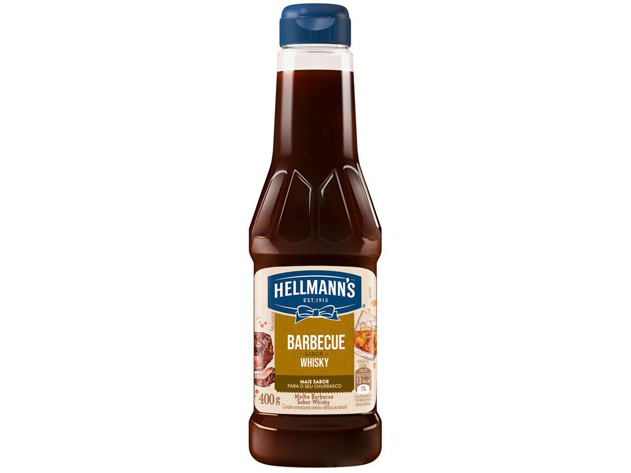 Molho Barbecue Hellmanns Whisky 400g