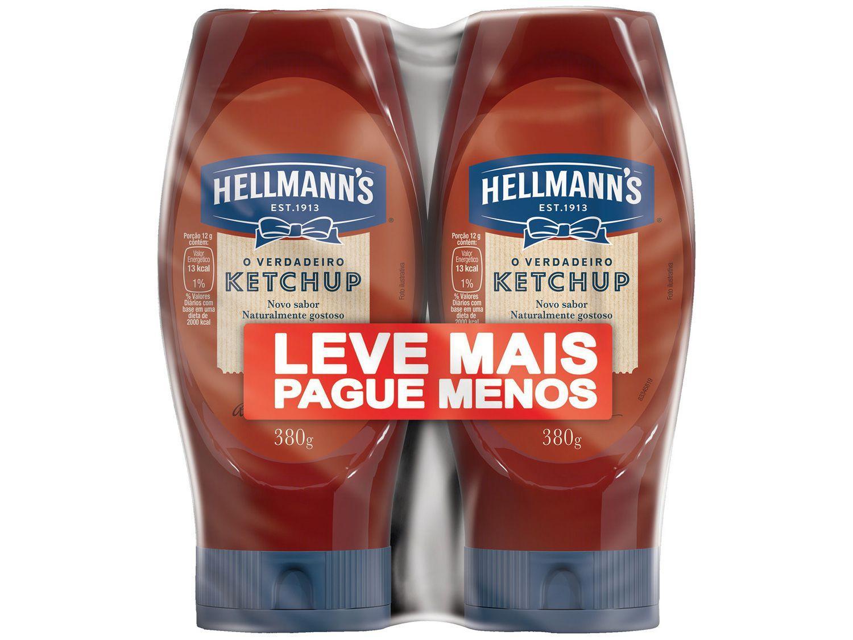 Ketchup Hellmanns Tradicional 380g 2 Unidades