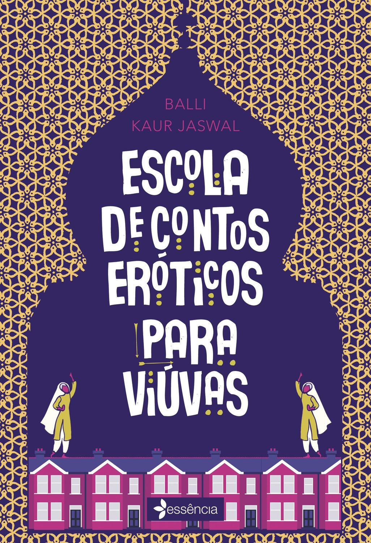Livro - Escola de contos eróticos para viúvas