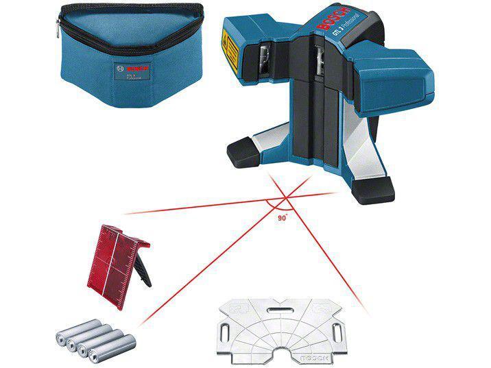 Nível a Laser Bosch GTL 3 20m - com Bolsa de Proteção