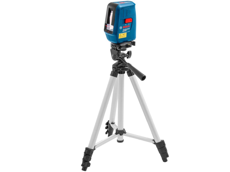 Nível a Laser de Linha Bosch Nivelox 15m - com Tripé e Maleta