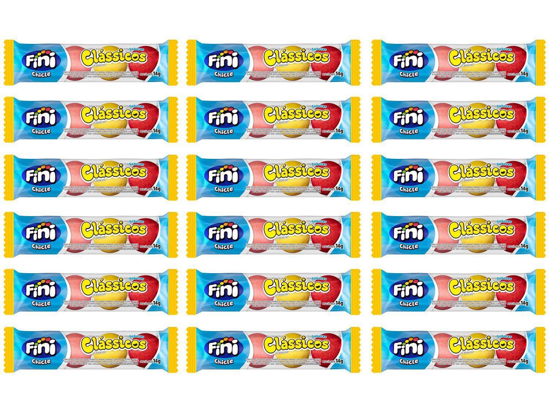 Goma de Mascar Fini Chicle Clássicos 14g Pacote - 18 Unidades