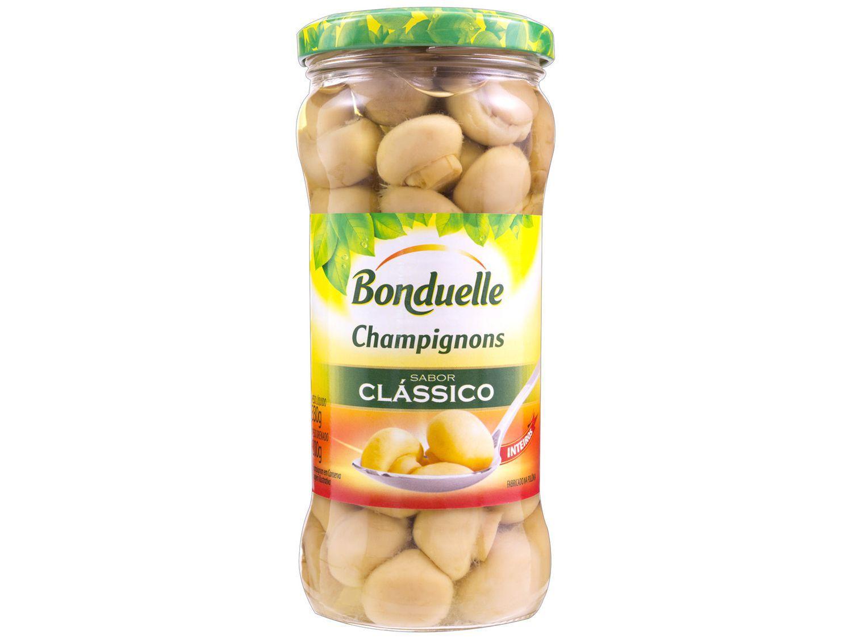 Cogumelo Champignon em Conserva Inteiro - Bonduelle Clássico 330g