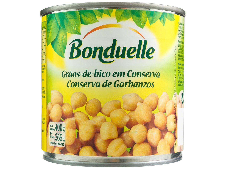 Grão de Bico em Conserva Bonduelle Lata 400g
