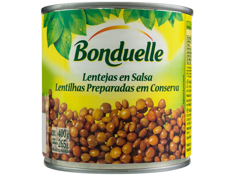 Lentilha em Conserva Bonduelle Lata 400g
