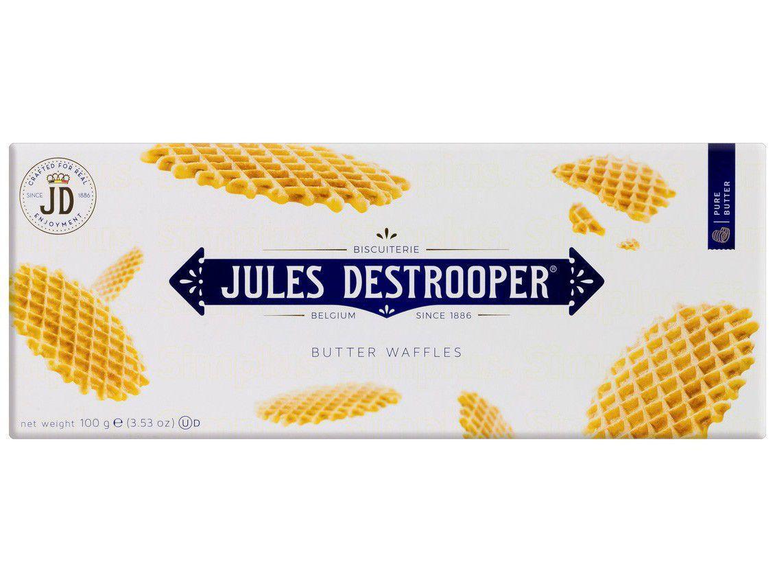 Biscoito Wafer Original Butter Waffles - Jules Destrooper 100g