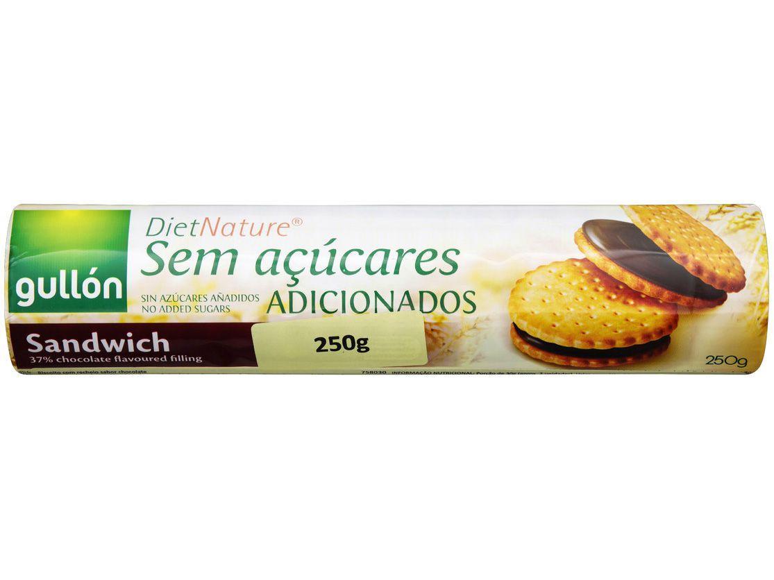 Biscoito Recheado Chocolate Diet Nature Gullón - 250g