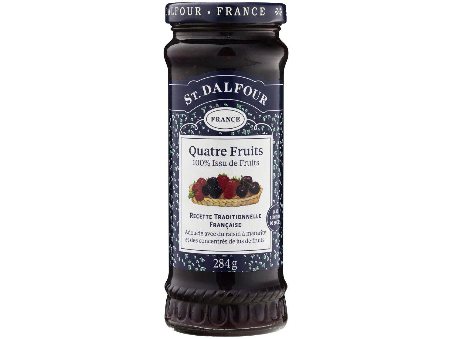 Geleia de Frutas Vermelhas St. Dalfour - Quatre Fruits 284g