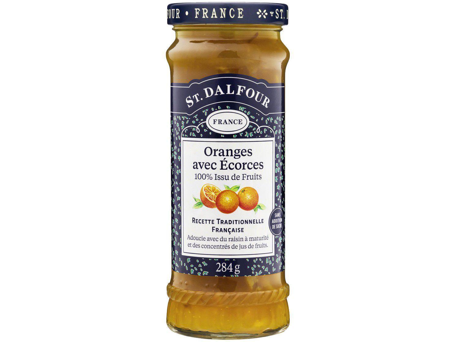 Geleia de Laranja St. Dalfour Oranges Avec Écorces - 284g