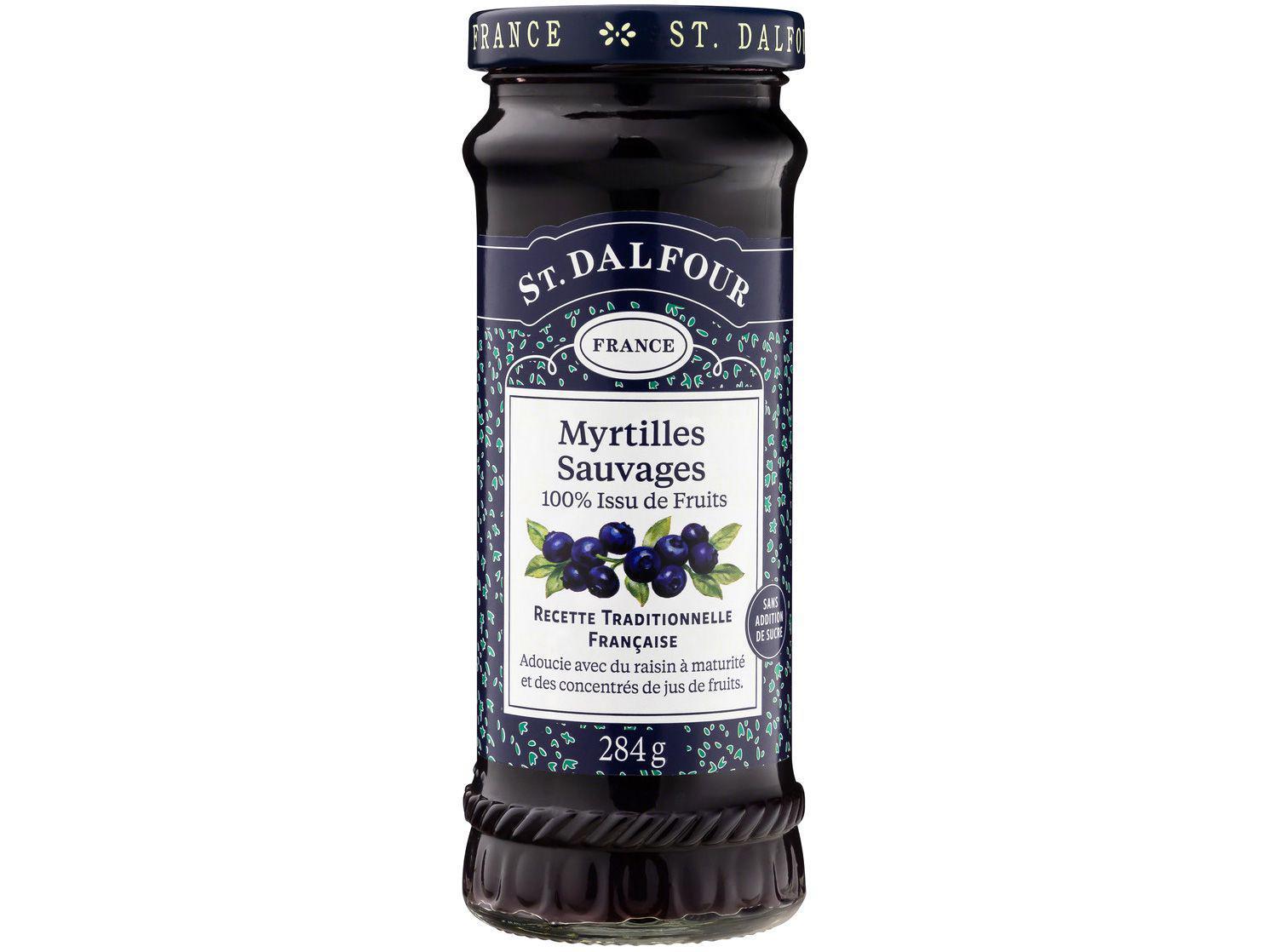 Geleia de Mirtilo St. Dalfour Myrtilles Sauvages - 284g